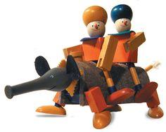 simsalabim Kellner Steckfiguren- imaginative toys