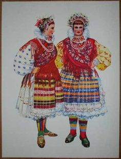 Croatia Folk Costume Slavonia Valpovo Brodjanci
