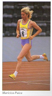 Maricica Puică - Athletics - Los Angeles Olympics 1984 ~ Womens 3000m