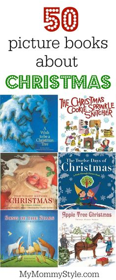 50 picture books about Christmas