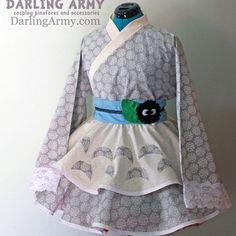 Forest Guardian Lolita Kimono Dress