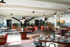Sala ristorante Cantieri Marconi Waterfront