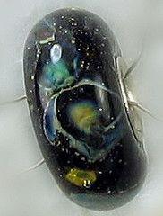 Glass space bead