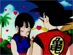imagenes de dragon ball de amor goku y milk - Buscar con Google