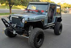 1998 Jeep Wrangler TJ Lifted Rock Crawler