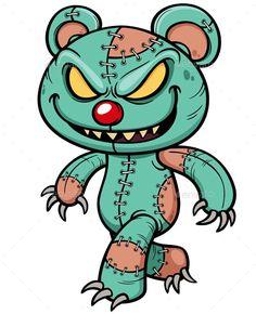 Buy Evil Teddy Bear by SARAROOM on GraphicRiver. Vector illustration of Cartoon Evil teddy bear Graffiti Doodles, Graffiti Cartoons, Graffiti Characters, Graffiti Drawing, Cool Art Drawings, Graffiti Art, Cartoon Drawings, Cartoon Art, Graffiti Lettering
