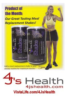 Shake up that routine, add some Purple Tiger Meal Replacement Shakes to the mix!!!  Http://VistaLife.com/4JsHealth   #4JsHealth