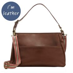 Leather Bags & Accessories | Double Handle Leather Bag | CathKidston