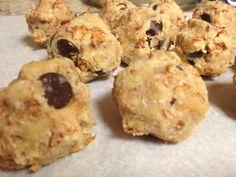 Almond meal dough balls