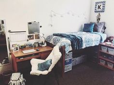 This room just reminds me of the wave emoji! Those blues and whites just fit perfectly together, such a dreamy spot. (Submission from University of Central Florida)