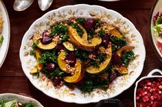 Roasted Beet-and-Squash Salad  - CountryLiving.com Fall Dishes, Roasted Beets, Veggie Recipes, Chicken Recipes, Salad Recipes, Meal Recipes, Real Food Recipes, Fish Recipes, Cooking Recipes