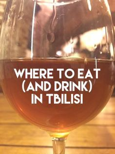 Where to Eat in Tbilisi Georgia