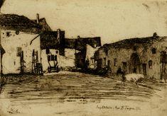 """""""Liverdun"""", James Abbott McNeill Whistler, 1858"""