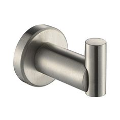 Angle Simple G2101p Stainless Steel Channel Single Robe Hook Brushed Nickel Http