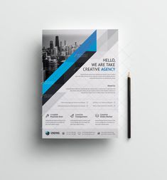 This corporate flyer is designed in Photoshop. The files included are help file and Photoshop PSD's. All PSD files are very well organized flyer templates. Poster Sport, Poster Cars, Poster Retro, Graphic Design Flyer, Graphic Design Templates, Booklet Design, Design Posters, Brochure Layout, Brochure Design