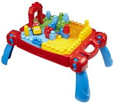 Mega Bloks Table - Bought this for my 16 month old son for Christmas. It is so cute and folds up for storage.