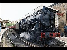 USA S160 2253 footplate (cab) ride on North Yorkshire Moors Railway May ...