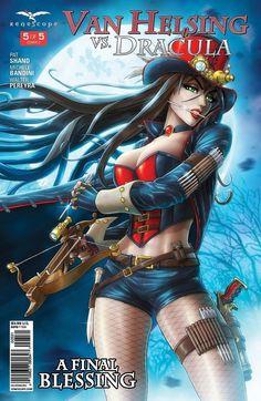GFT HELLCHILD #5 Cover B Zenescope NM Comic Vault 35