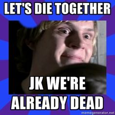 Hahaha soooo creepy! Tate Langdon (Evan Peters) from American Horror Story