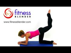 Shape, Tone, Tighten and Lift your Booty in 5 Minutes, Fitness Blender