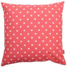 Vankúš Star Coral 40 x 40 cm Polka Dot Top, Coral, Stars, Living Room, Women, Fashion, Moda, Fashion Styles, Sterne