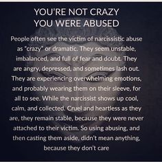 Below you can find amaizng and greatest relationship tips or marriage tips. Narcissistic People, Narcissistic Mother, Narcissistic Behavior, Narcissistic Abuse Recovery, Narcissistic Personality Disorder, Narcissistic Sociopath, Sociopath Traits, Narcissistic Abuse Syndrome, Borderline Personality Disorder Quotes