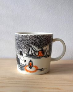 Moomin Mugs, Cozy Cabin, Tableware, Ideas, Dinnerware, Tablewares, Dishes, Thoughts, Place Settings