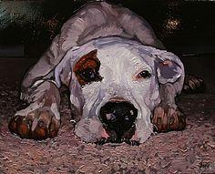 """Jared Gillett - Oil painting """"Wyatt"""""""