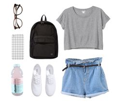 """Untitled #57"" by ohlookitsdonte ❤ liked on Polyvore featuring H&M, Monki, Porter, denim and trendreport"