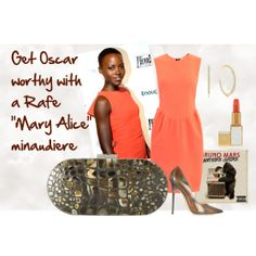 """""""Get Oscar ready with a Rafe """"MaryAlice"""" minaudière"""" by rafe-new-york on Polyvore, bag available @Zappos online"""