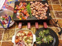 Dinner is served--Velata raclette style!