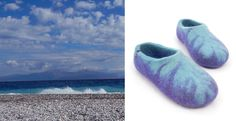 blue and purple Wooppers from the TOPS collection; the colours of September sea @ www.wooppers.com