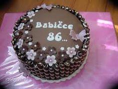 Výsledek obrázku pro čokoládové dorty Birthday Cake, Desserts, Food, Birthday Cakes, Meal, Deserts, Essen, Hoods, Dessert