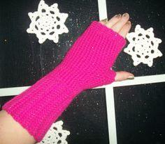 365 Crochet: Finger Free Mittens