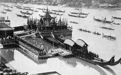 Floating dock erected in 1900 for Thai prince, from 'Once Upon a Time in Bangkok' - A Slideshow   Foreign Policy