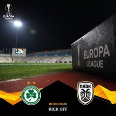 Kick off at GSP Stadium! Let's do it guys! #OMOPAOK #UEL @omonoiafootball @europaleague