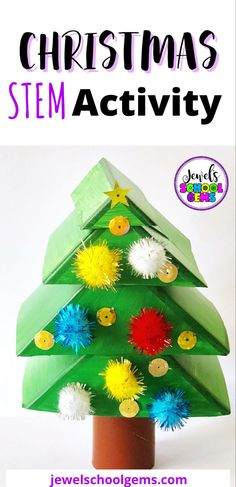 With a little breathing room between now and Christmas, I think it's the perfect time to look at Holidays Around the World STEM activities! This is why I have seven holidays and seven STEM activities just for you! One of them is this Christmas Tree STEM Challenge. Challenge your students to design and build a Christmas tree out of simple materials and a budget! Click to learn more.