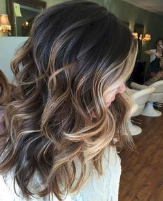 44 Beautiful Brunette Balayage Hair Color Ideas