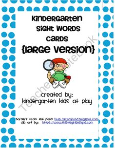 Worksheets Kindergarten Sight Words Printables Flash Card To Print 1st grade sight words building leaf a free printable of the freebie kindergarten flash cards large version from kids at play