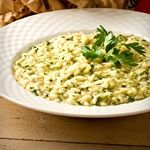 Cauliflower Risotto.....this stuff is AMAZING!!!! made it for dinner last night and it was so good, I'm about to go make it right now for lunch!!!!