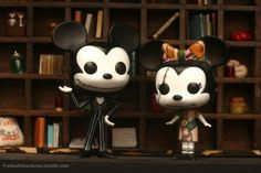 Mickey and Minnie Jack and Sally