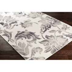 Found it at Joss & Main - Justine Rug in Gray & Off-White