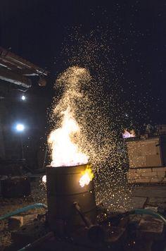 petr toms´s raku charcoal kiln
