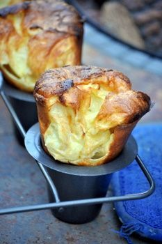 Yorkshire puddings are big, puffy popovers with a different name. The difference between the two is that popovers are usually cooked in a bit of butter or oil, while Yorkshire puddings are usually cooked in beef drippings, or meat fat that has come off of a nice roast. I find ...