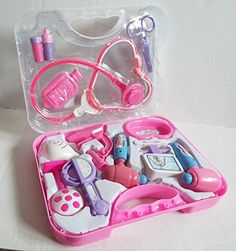 Ask The Doctor Pretend Doctor Nurse Play Medical Set- Made for Small Hands ** Click on the image for additional details.