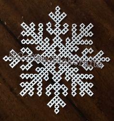 Lace detail Snowflake plastic canvas Cutout https://www.etsy.com/listing/497675825/snowflake-plastic-canvas-cut-outs