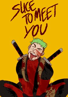 ableismchan: i stumbled upon jacks letsplay of deadpool and ive come to the conclusion jack and deadpool are Made For Each Other therealjacksepticeye: I am spiderpool!!!