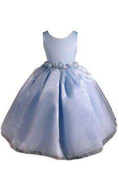 AMJ Dresses Inc Elegant Sky Blue Flower Girl « Dress Adds Everyday