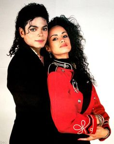 <3 Michael Jackson and Tatiana Thumbtzen <3