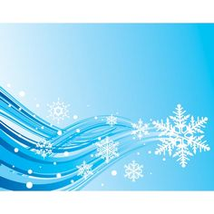 Vector abstract snow flake pattern with blue lines Christmas background